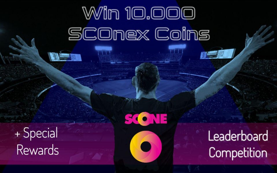 Win SCOneX Coins … Join the Leaderboard Social Competition !