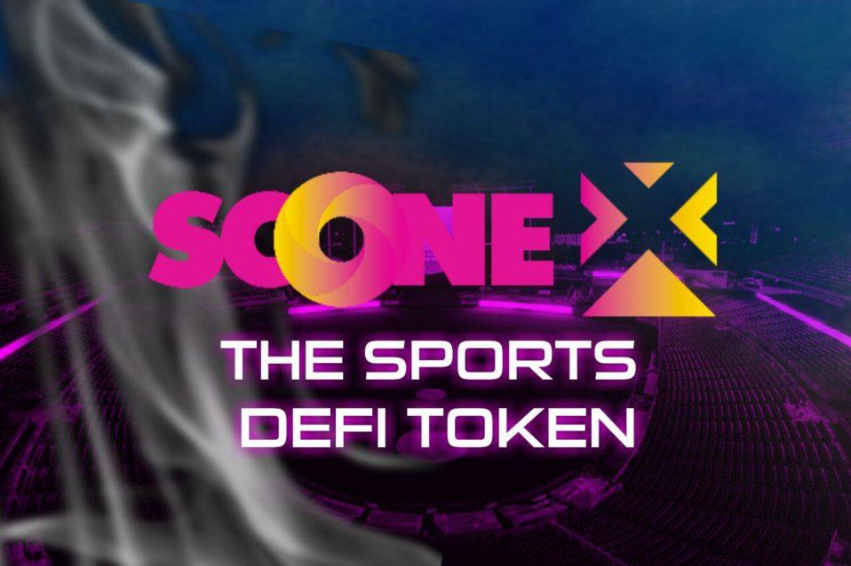 Sports DEFI platform SCOneX